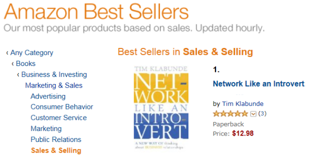 Network Like an Introvert - 1 Best Seller